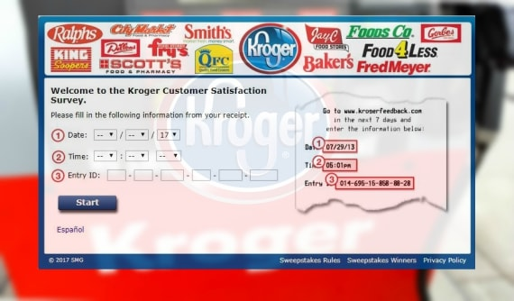 www.krogerfeedback.com Kroger feedabck fuel points